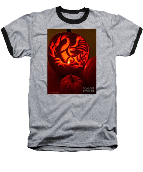 Dragon Lantern Baseball T-Shirt