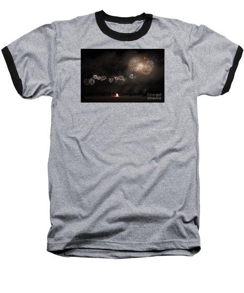 Dragon Of Light.. Baseball T-Shirt by Nina Stavlund
