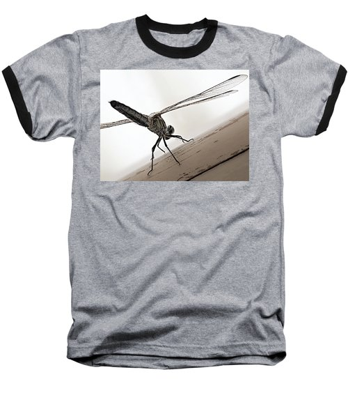 Baseball T-Shirt featuring the photograph Dragon Of The Air  by Micki Findlay