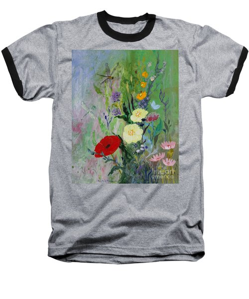 Dragonflies Dancing Baseball T-Shirt