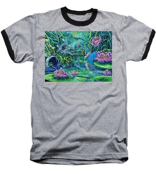 Dragonflies Baseball T-Shirt