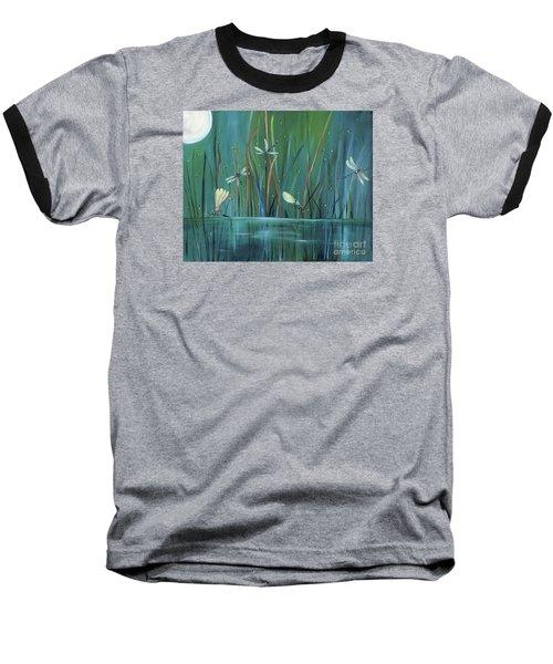 Dragonfly Diner Baseball T-Shirt