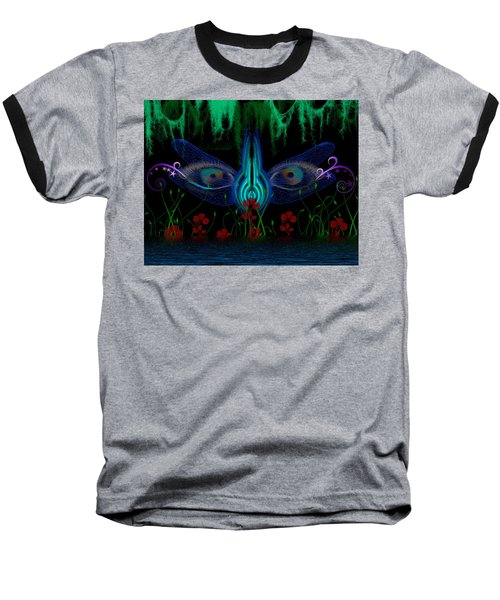 Dragonfly Eyes Series 6 Final Baseball T-Shirt