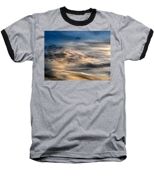 Dragonfly In The Sky Baseball T-Shirt