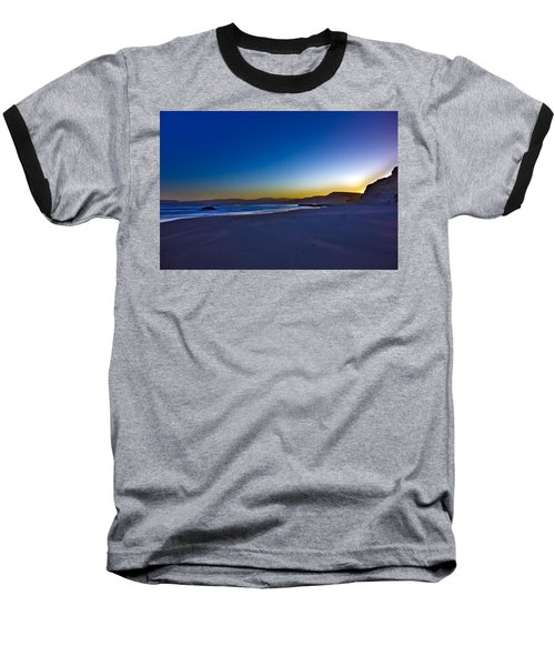 Drake's Beach Hdr Baseball T-Shirt