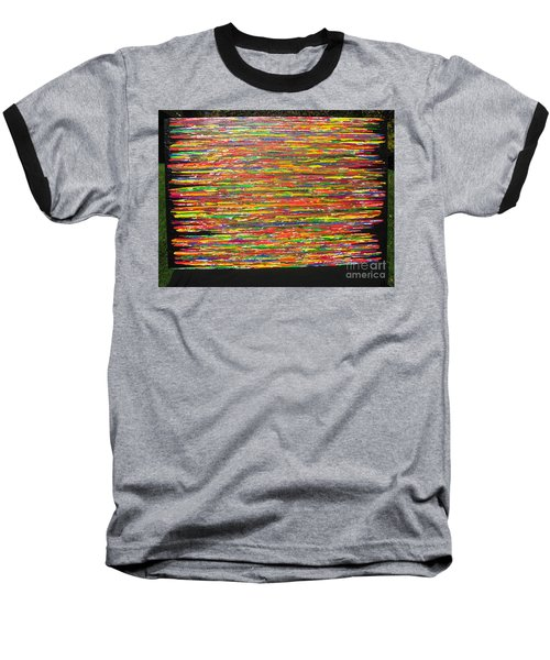 Baseball T-Shirt featuring the painting Drama by Jacqueline Athmann