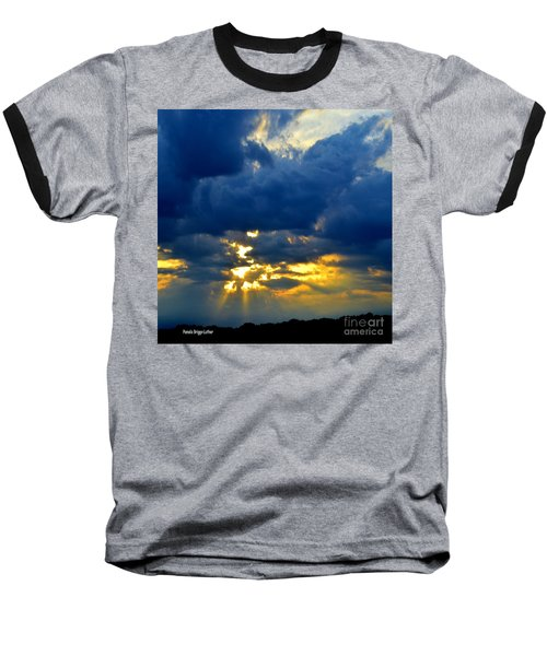 Baseball T-Shirt featuring the photograph Dramatic Clouds by Luther Fine Art