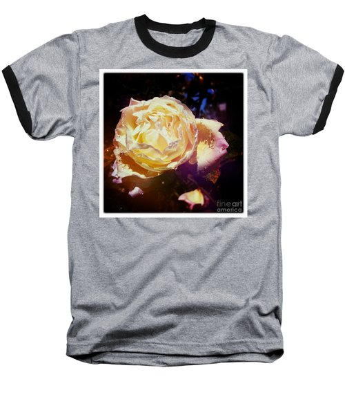 Dramatic Rose Baseball T-Shirt