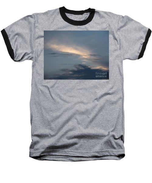 Dramatic Skyline Baseball T-Shirt