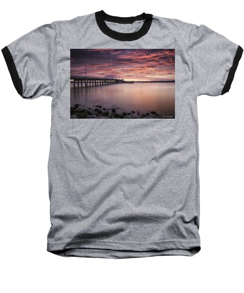 Drawbridge At Dusk Baseball T-Shirt