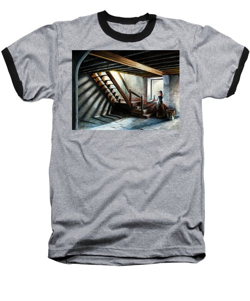 Drayton Hall- A Quiet Moment Baseball T-Shirt