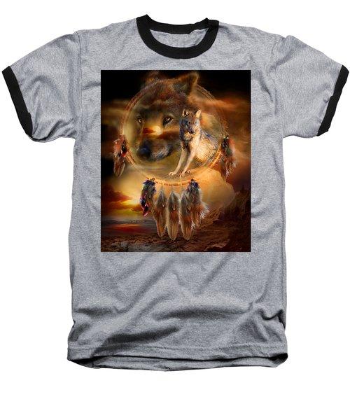 Dream Catcher - Wolfland Baseball T-Shirt