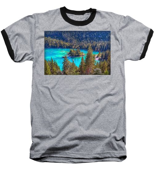 Dream Lake Baseball T-Shirt by Hanny Heim