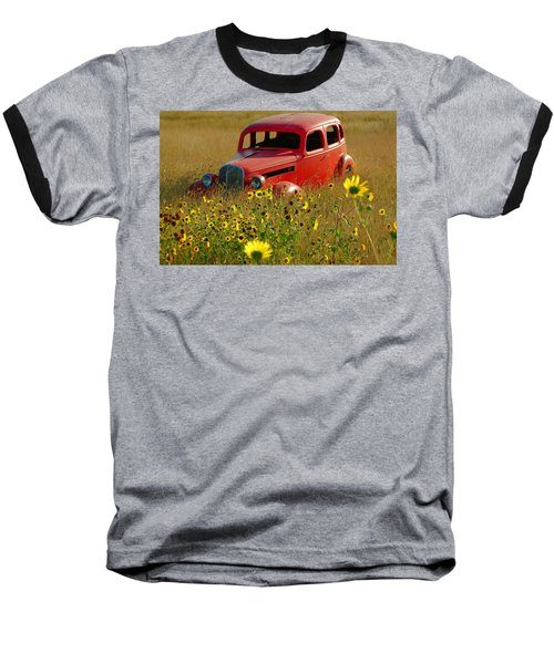 Baseball T-Shirt featuring the photograph Dream Left Behind by Leticia Latocki