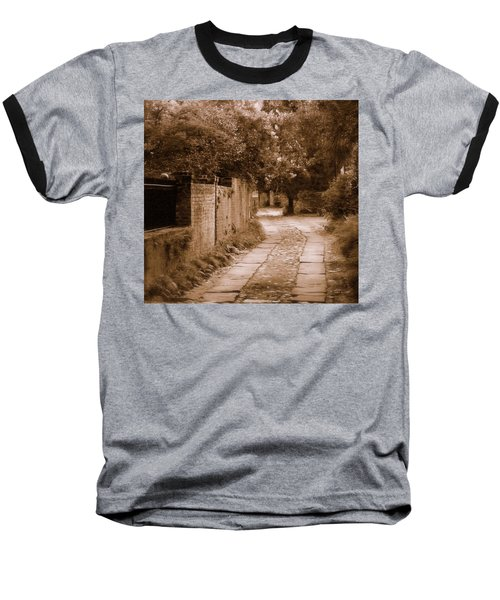 Baseball T-Shirt featuring the photograph Dream Road by Rodney Lee Williams