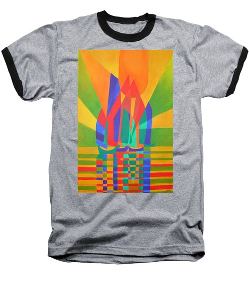 Baseball T-Shirt featuring the painting Dreamboat by Tracey Harrington-Simpson