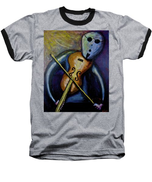 Baseball T-Shirt featuring the painting Dreamers 99-002 by Mario Perron