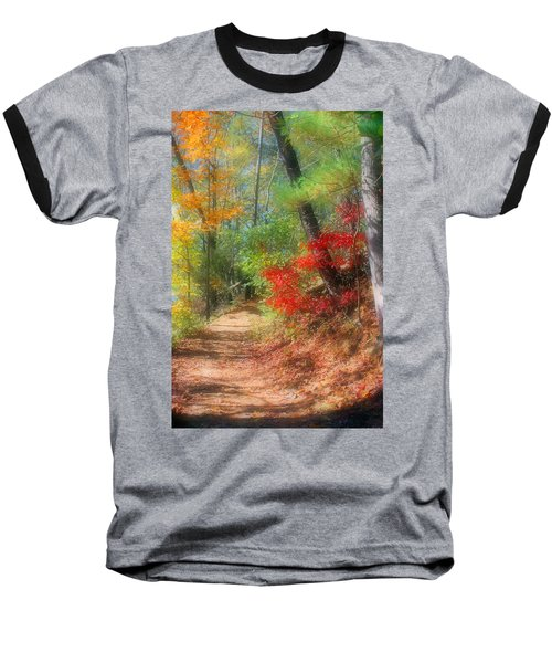 Baseball T-Shirt featuring the photograph Dreaming Of Fall by Kristin Elmquist