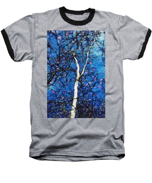 Baseball T-Shirt featuring the digital art Dreaming Of Spring by David Lane