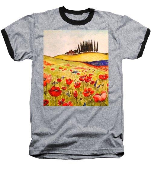 Dreaming Of Tuscany Baseball T-Shirt