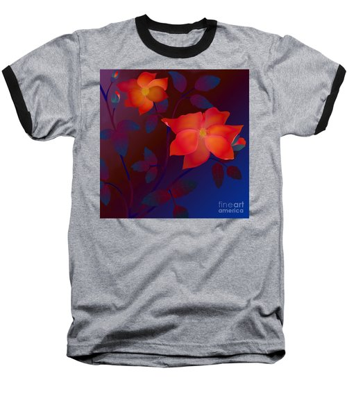 Dreaming Wild Roses Baseball T-Shirt
