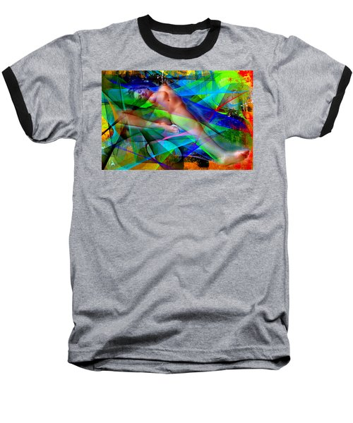 Baseball T-Shirt featuring the digital art Dreams In Color by Rafael Salazar