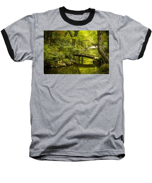 Dreamy Japanese Garden Baseball T-Shirt