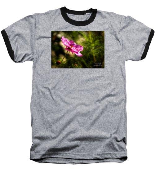 Dreamy Pink Comos Baseball T-Shirt