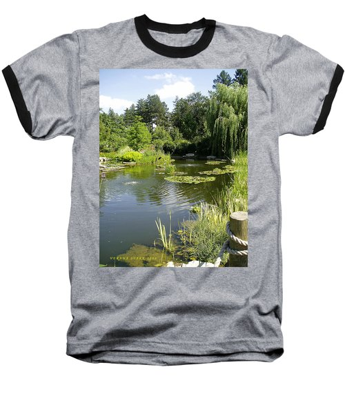 Dreamy Pond Baseball T-Shirt