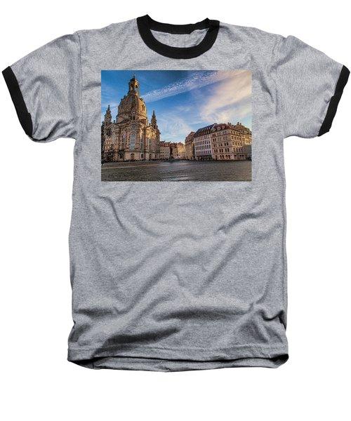 Dresden Frauenkirche Baseball T-Shirt