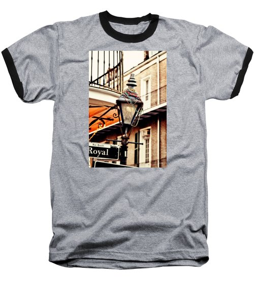 Dressed For The Party Baseball T-Shirt by Scott Pellegrin