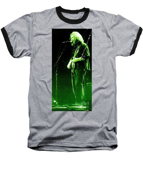 Baseball T-Shirt featuring the photograph Dressed Myself In Green  by Susan Carella