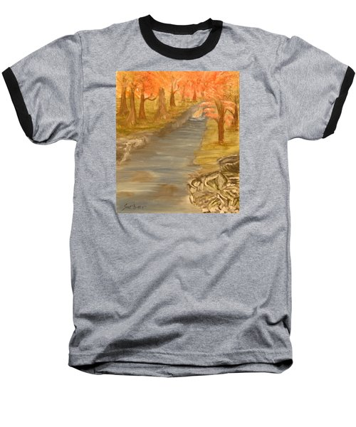Drifting Away Baseball T-Shirt