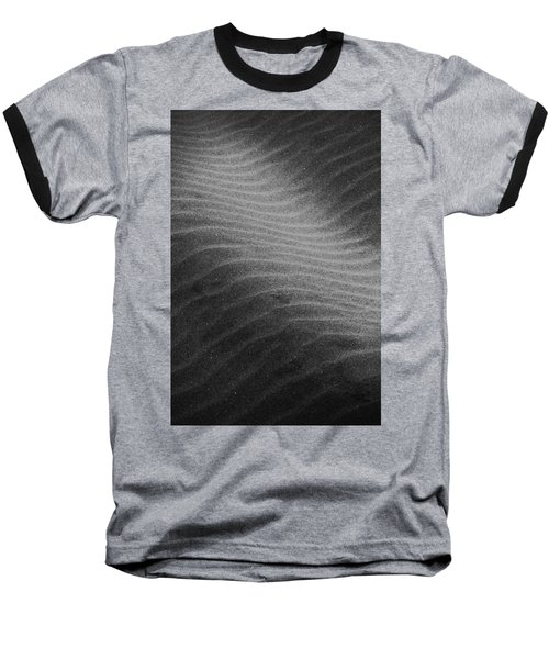 Ocean Baseball T-Shirt featuring the photograph Drifting Sand by Aaron Berg