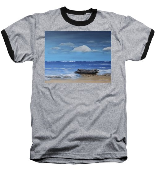 Driftwood Baseball T-Shirt by Dick Bourgault
