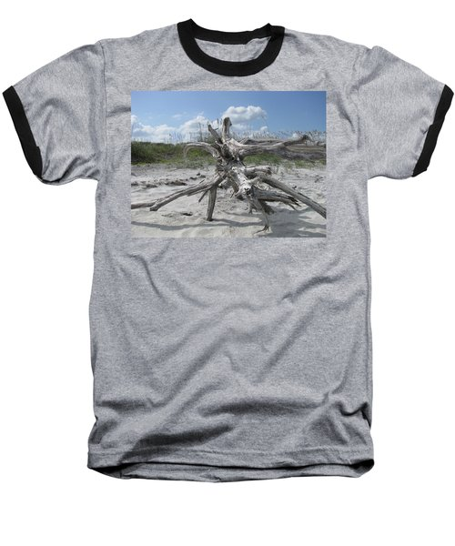 Driftwood Tree Baseball T-Shirt