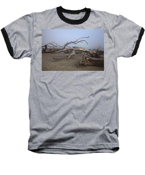 Driftwood Trees On Jekyll Island Baseball T-Shirt