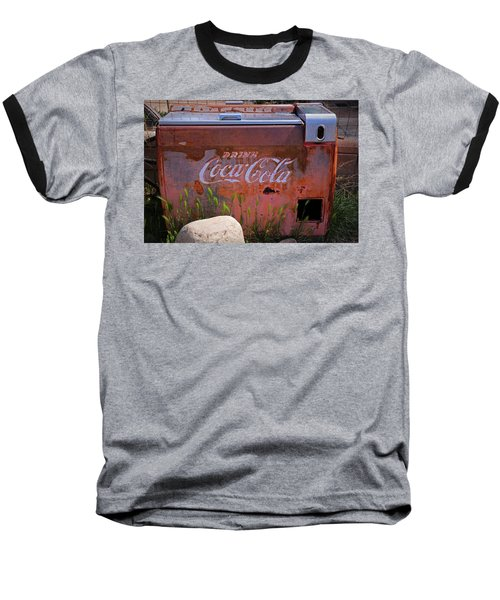 Drink Coca Cola Baseball T-Shirt by Lynn Sprowl