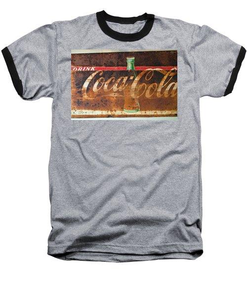 Drink Coca-cola Baseball T-Shirt by Tikvah's Hope