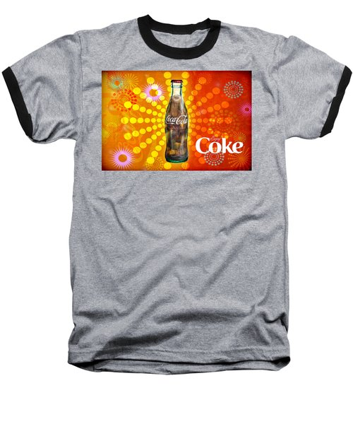 Drink Ice Cold Coke 4 Baseball T-Shirt
