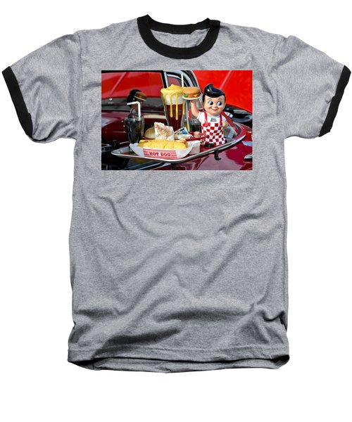 Drive-in Food Classic Baseball T-Shirt