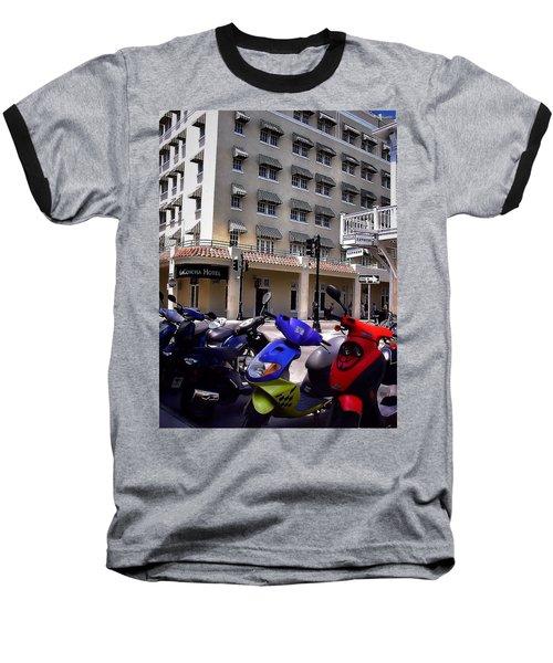 Drivin Duval Baseball T-Shirt by Robert McCubbin