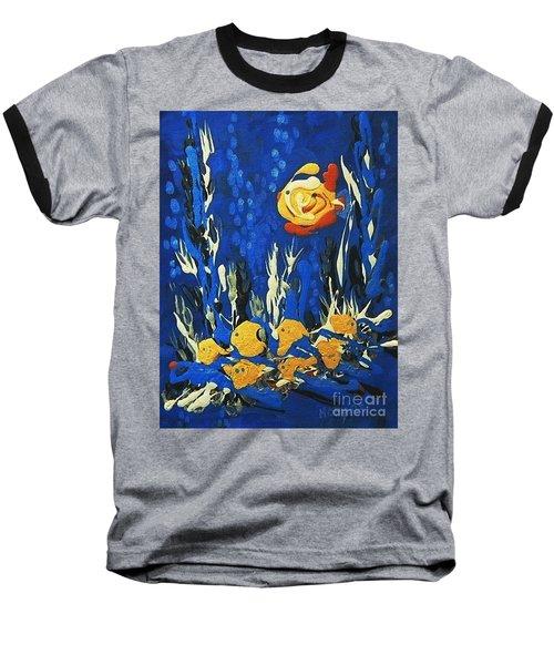 Drizzlefish Baseball T-Shirt