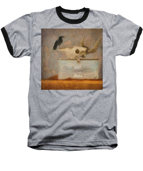 Drought And The Illusion Of Water Baseball T-Shirt by Jeff Burgess