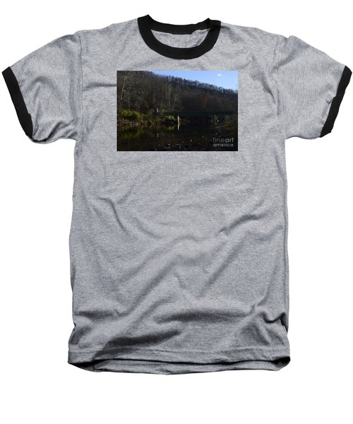 Baseball T-Shirt featuring the photograph Dry Fork At Jenningston by Randy Bodkins