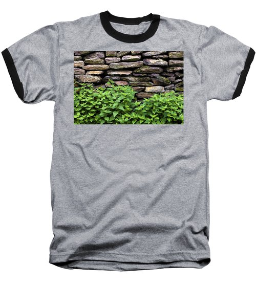 Dry Stone Wall  Baseball T-Shirt