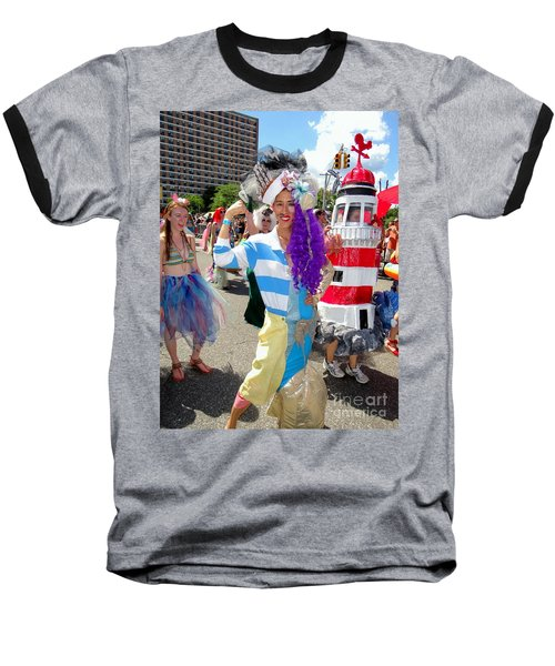 Baseball T-Shirt featuring the photograph Duality by Ed Weidman