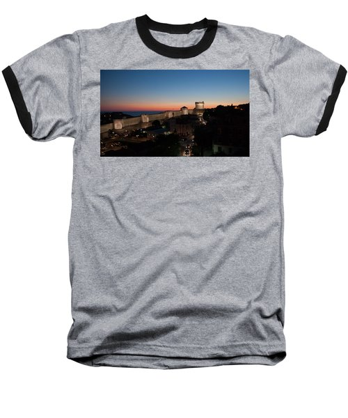 Baseball T-Shirt featuring the photograph Dubrovnik by Silvia Bruno