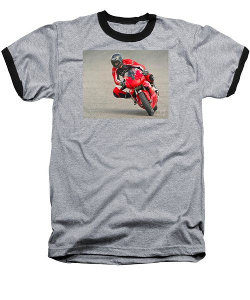 Ducati 900 Supersport Baseball T-Shirt by Jerry Fornarotto