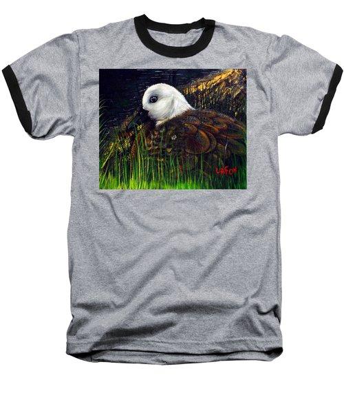Duck At Dusk Baseball T-Shirt